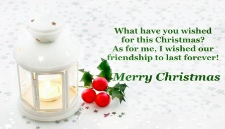 christmas shayari in english for friends